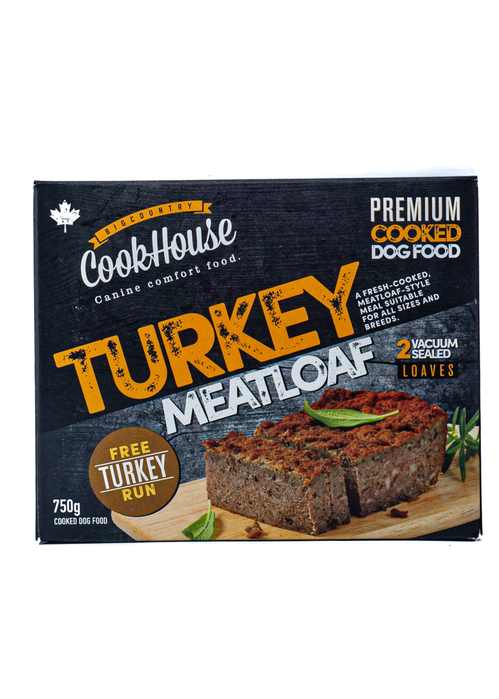 Big Country CookHouse Big Country CookHouse Turkey Meatloaf 750g