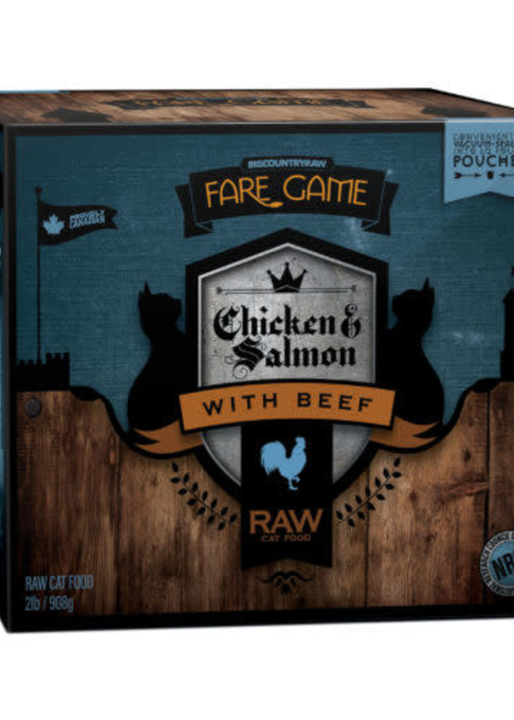 Fare Game Fare Game Chicken and Salmon with Beef 2lbs