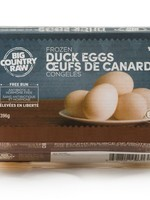Big Country Raw Frozen Duck Eggs 6pk