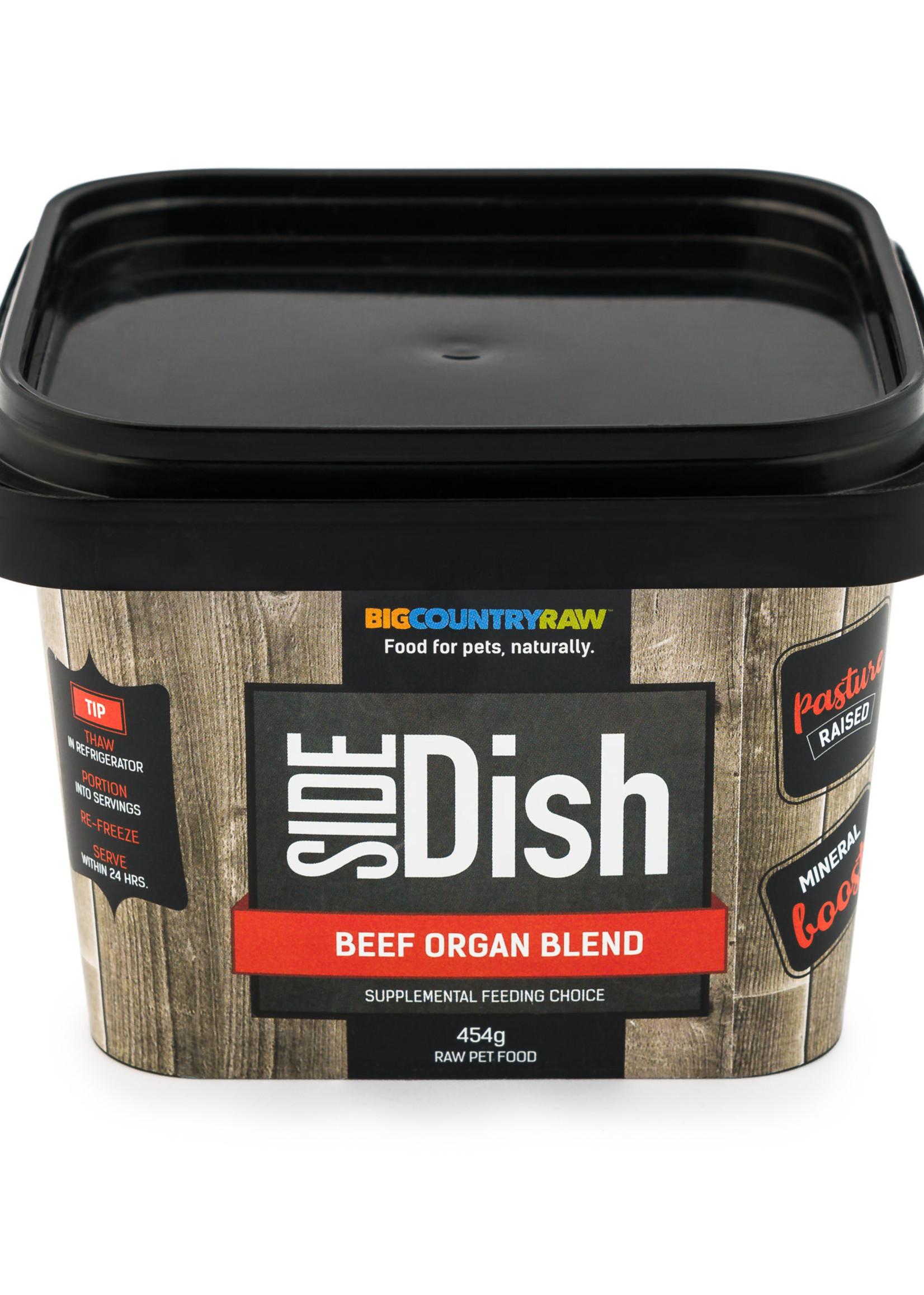 Big Country Raw  Big Country Raw Side Dish Beef Organ Blend 1lb