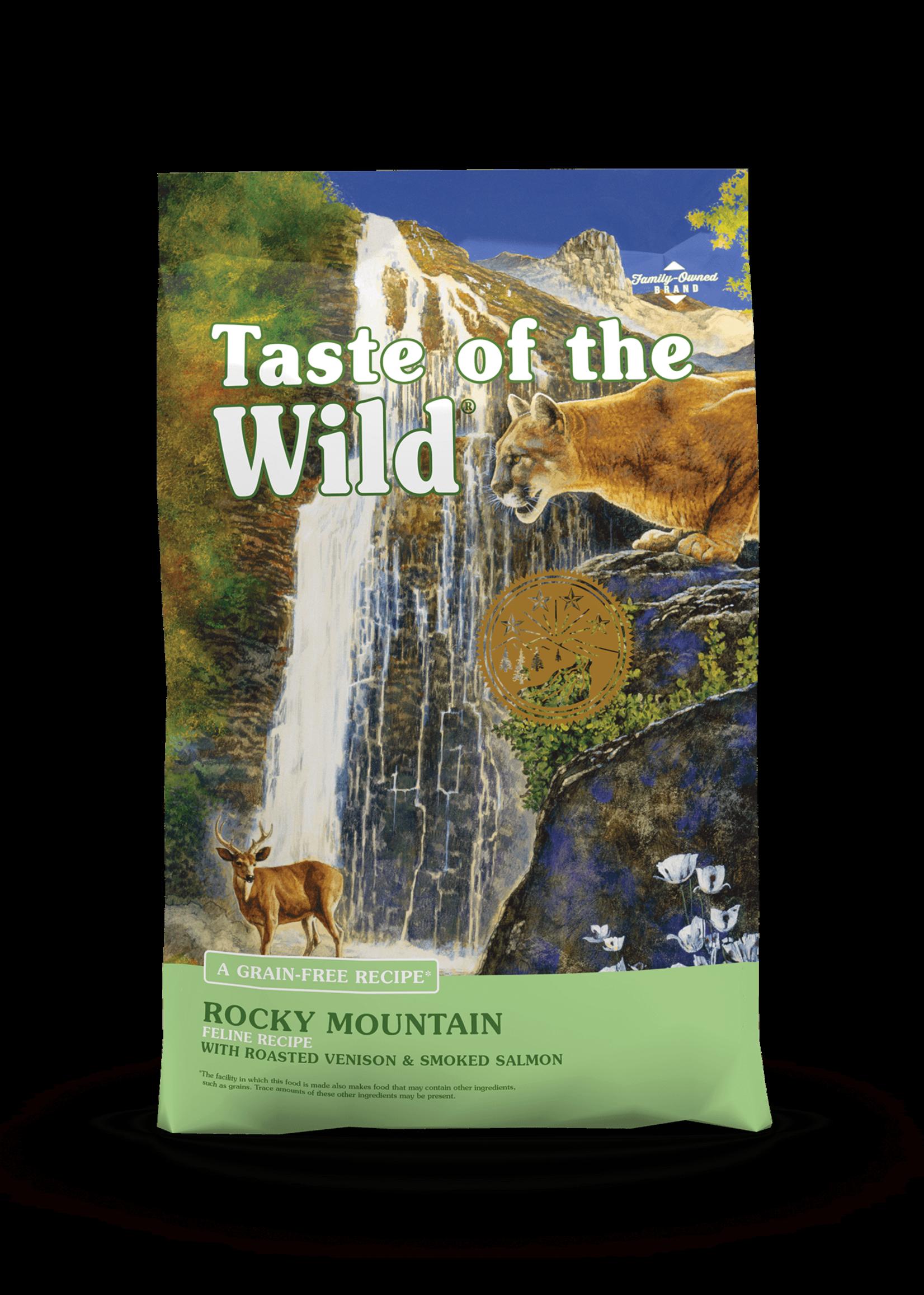 Taste of the Wild® TASTE OF THE WILD ROCKY MOUNTAIN w/ ROASTED VENISON & SMOKED SALMON 14lbs