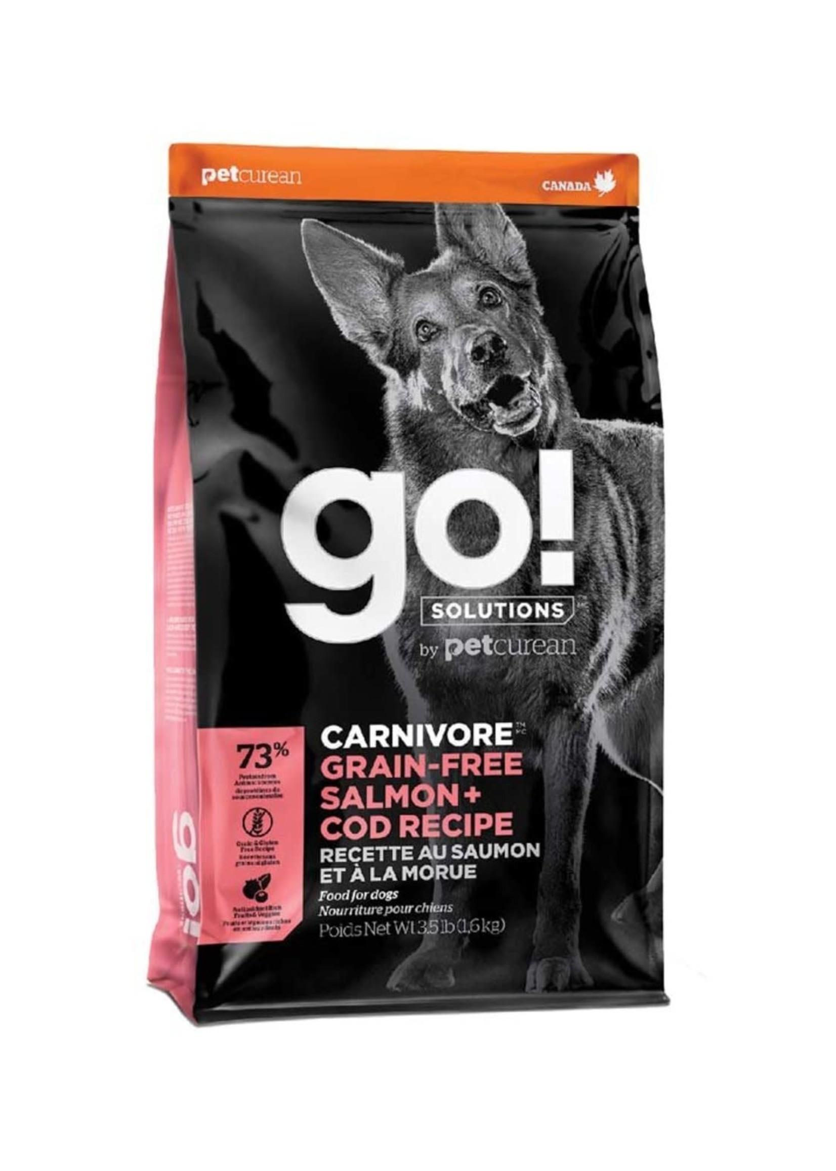 Go! Solutions™ go! Carnivore™ GF Salmon + Cod Recipe 3.5lbs