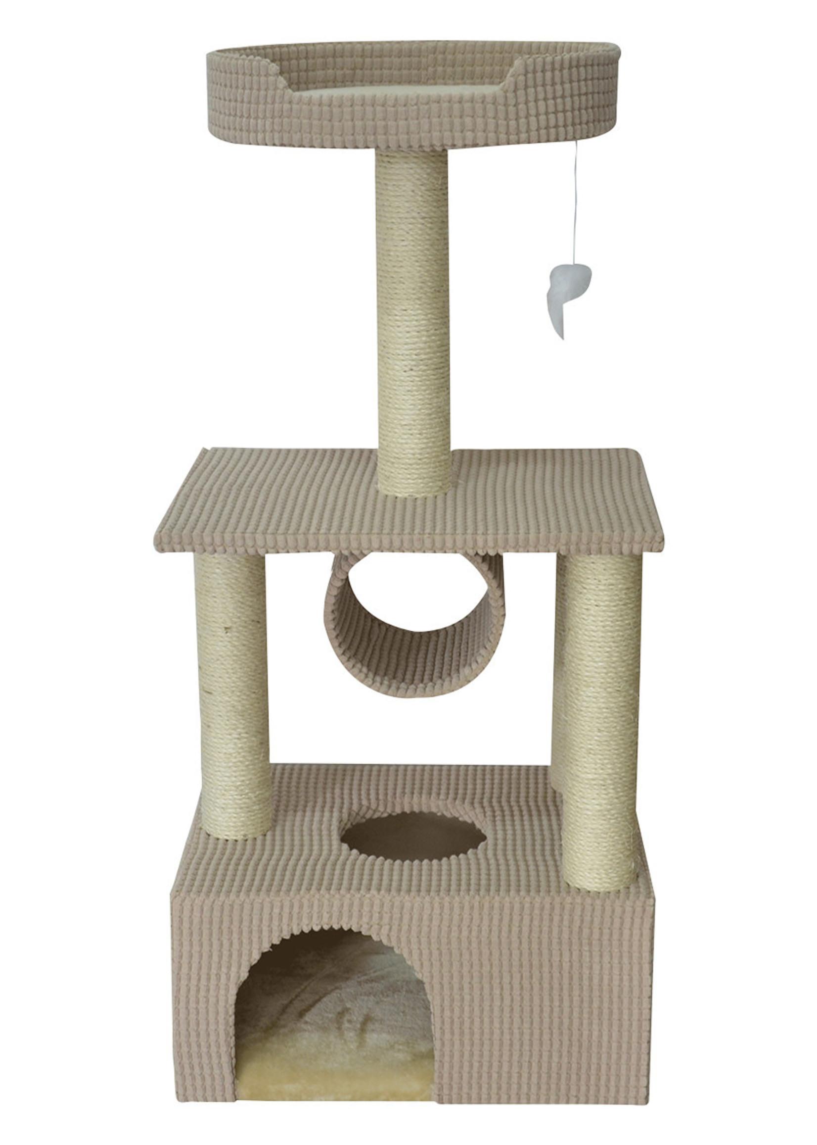 "Animal Treasures Animal Treasures Cat Tree - Condo 42"""