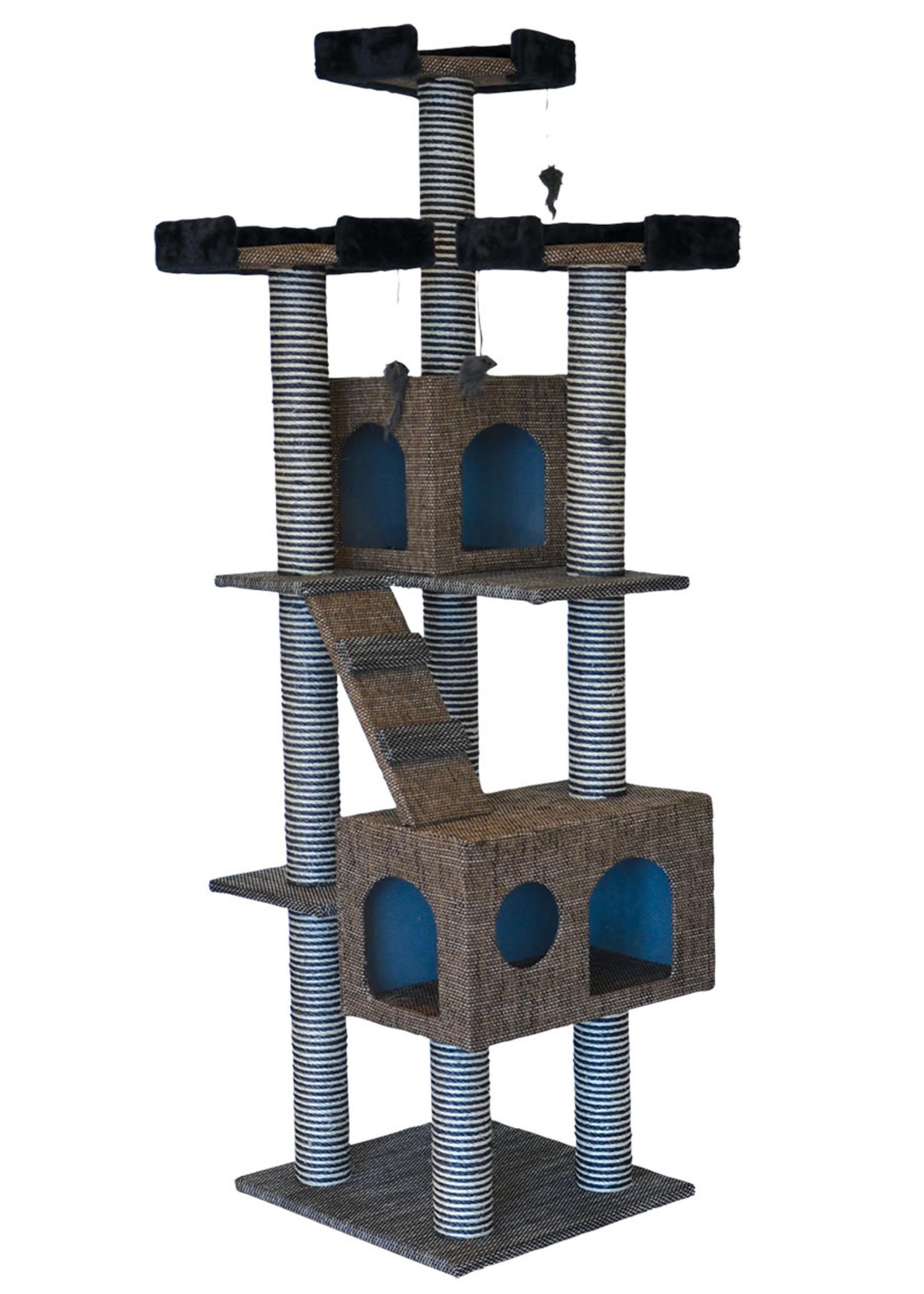 "Animal Treasures Animal Treasures Cat Tree  - Tower 72"""
