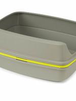 Moderna® LIFT TO SIFT LITTER BOX LARGE (GREY/LEMON)