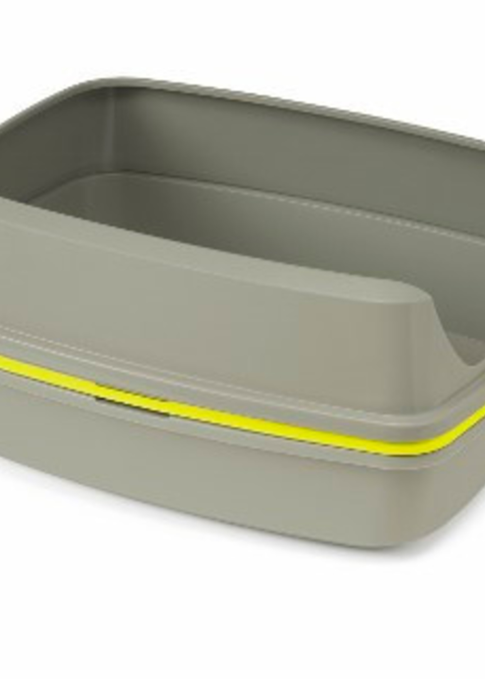 Moderna® MODERNA LIFT TO SIFT LITTER BOX LRG (GREY/LEMON)
