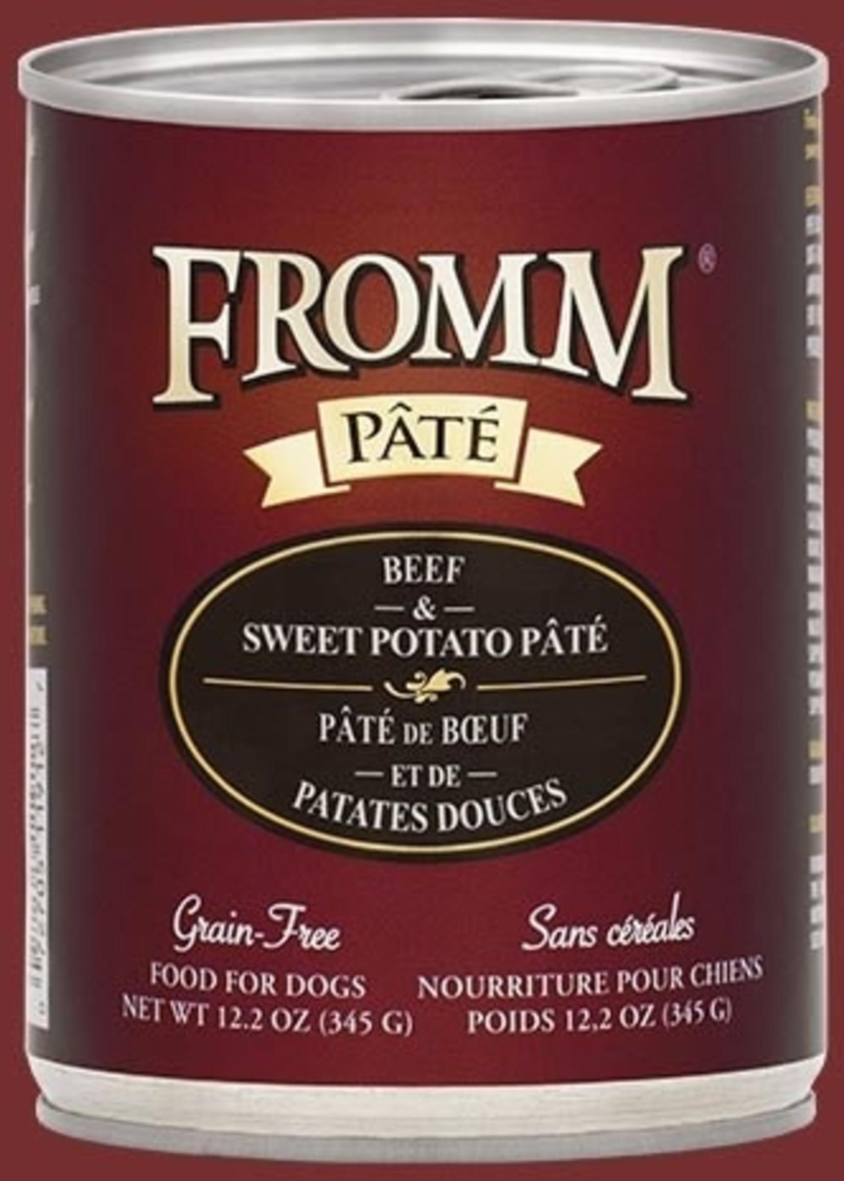 Fromm® Fromm GF Beef & Sweet Potato Pâté 12oz