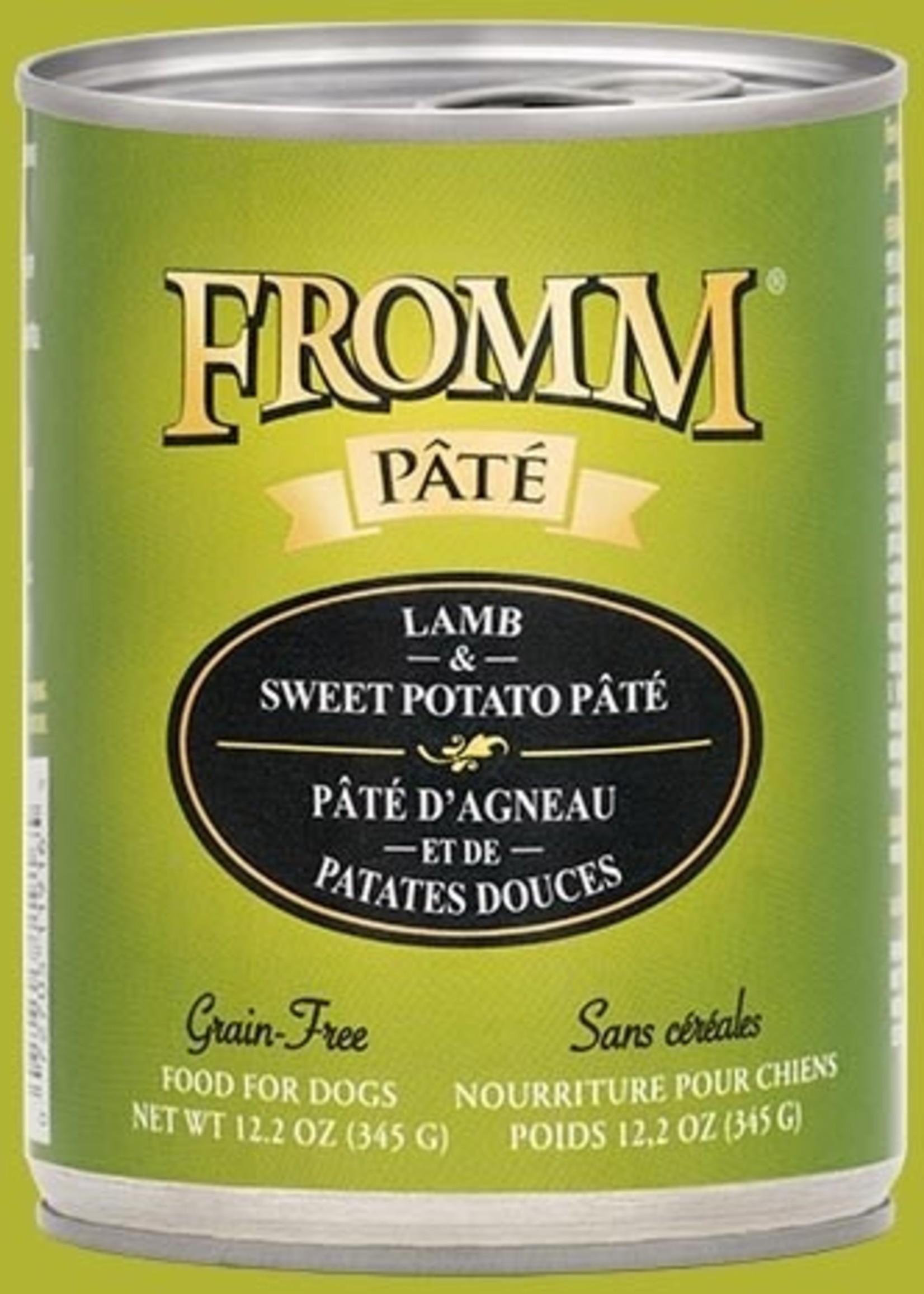 Fromm® Fromm GF Lamb & Sweet Potato Pâté 12oz