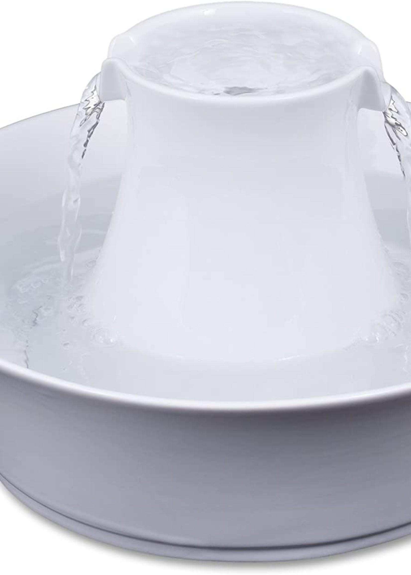 PetSafe® DRINKWELL CERAMIC AVALON PET FOUNTAIN WHITE