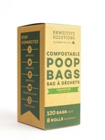PAWSITIVE SOLUTIONS COMPOSTABLE POOP BAGS (960x)