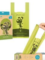EARTH RATED POOP BAGS UNSCENTED 12 HANDLED BAGS