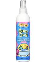 CARDINAL LABS CRAZY DOG BABY POWDER GROOMING SPRAY 8oz