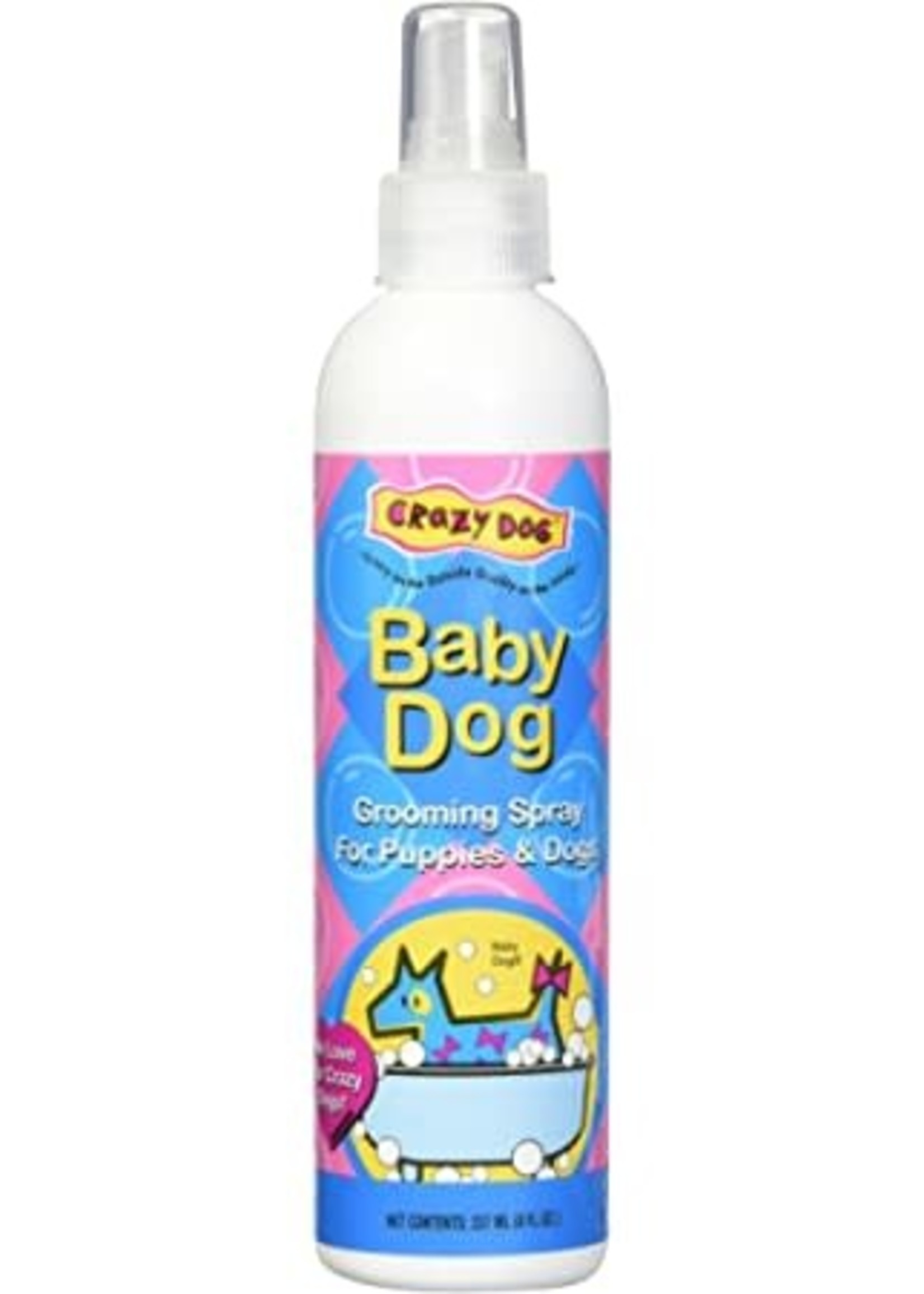 Cardinal Labs® CRAZY DOG BABY POWDER GROOMING SPRAY 8oz