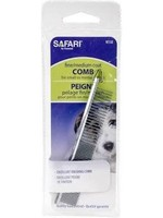 """SAFARI SAFARI DOG GROOMING COMB MED/FINE COAT 4 1/2"""""""