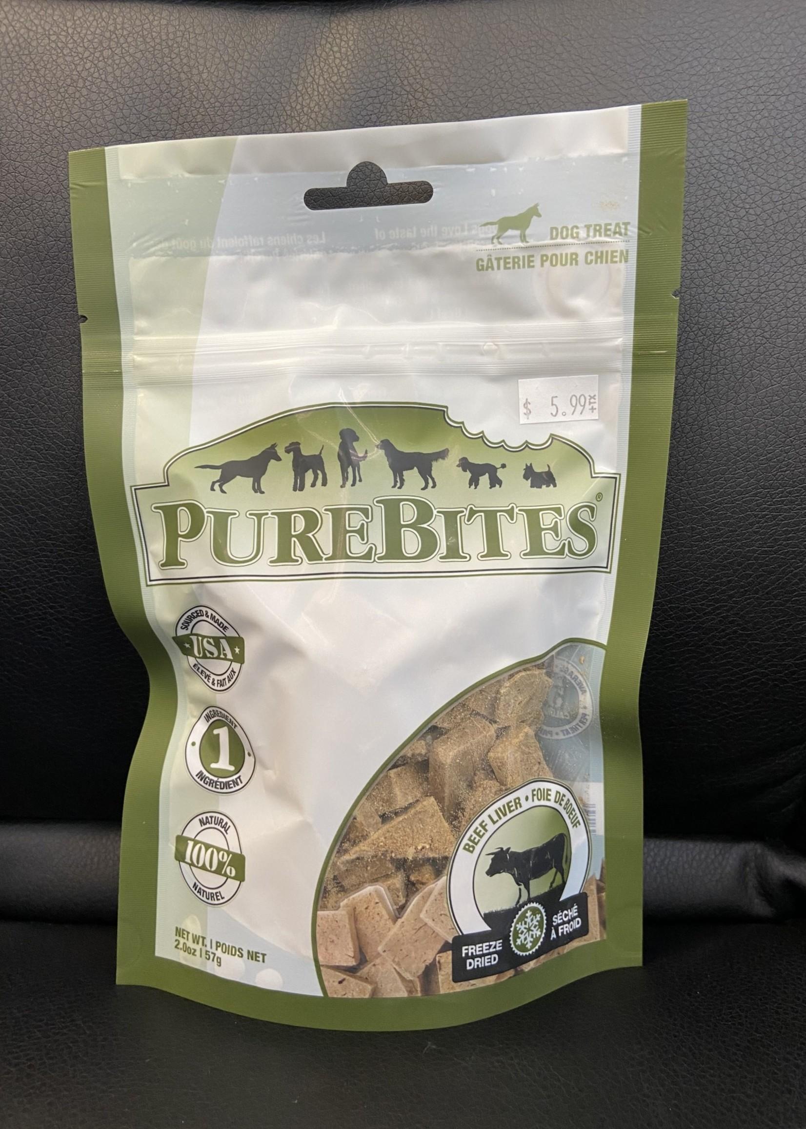PureBites® Freeze Dried Beef Liver 57g