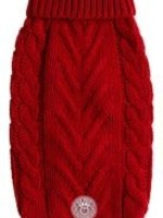 GF Pet® CHALET DOG SWEATER RED xs