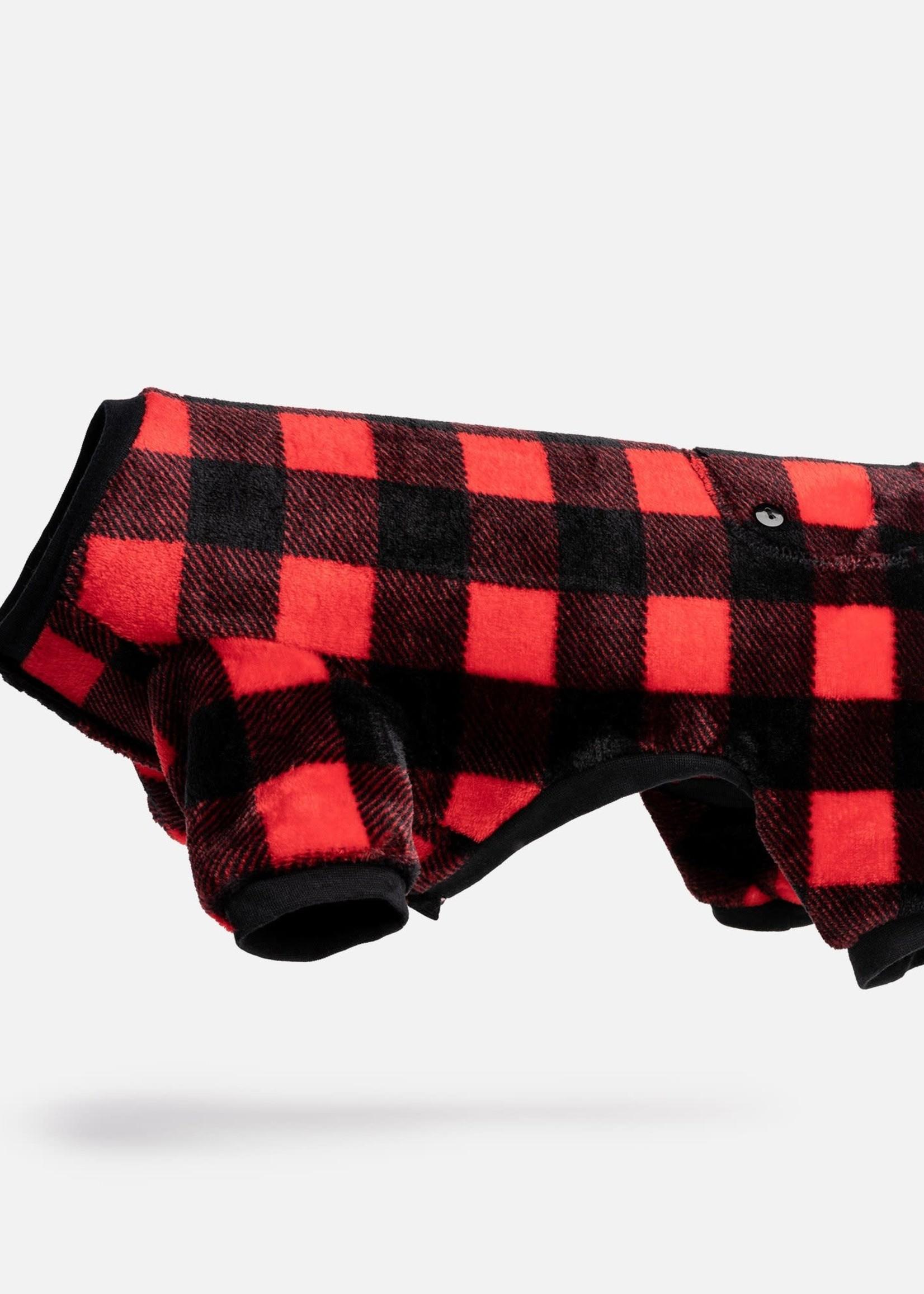 Silver Paw™ Silver Paw Dog Pajamas Buffalo Plaid Medium