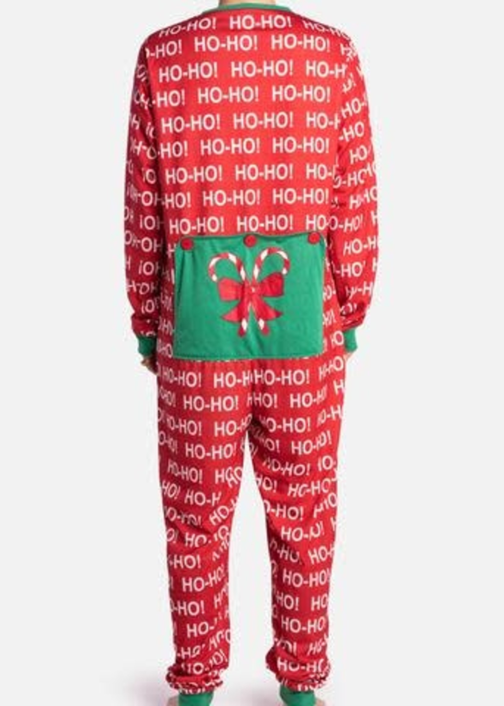 Silver Paw™ Silver Paw Human Onesie Ho-Ho-Ho- Large