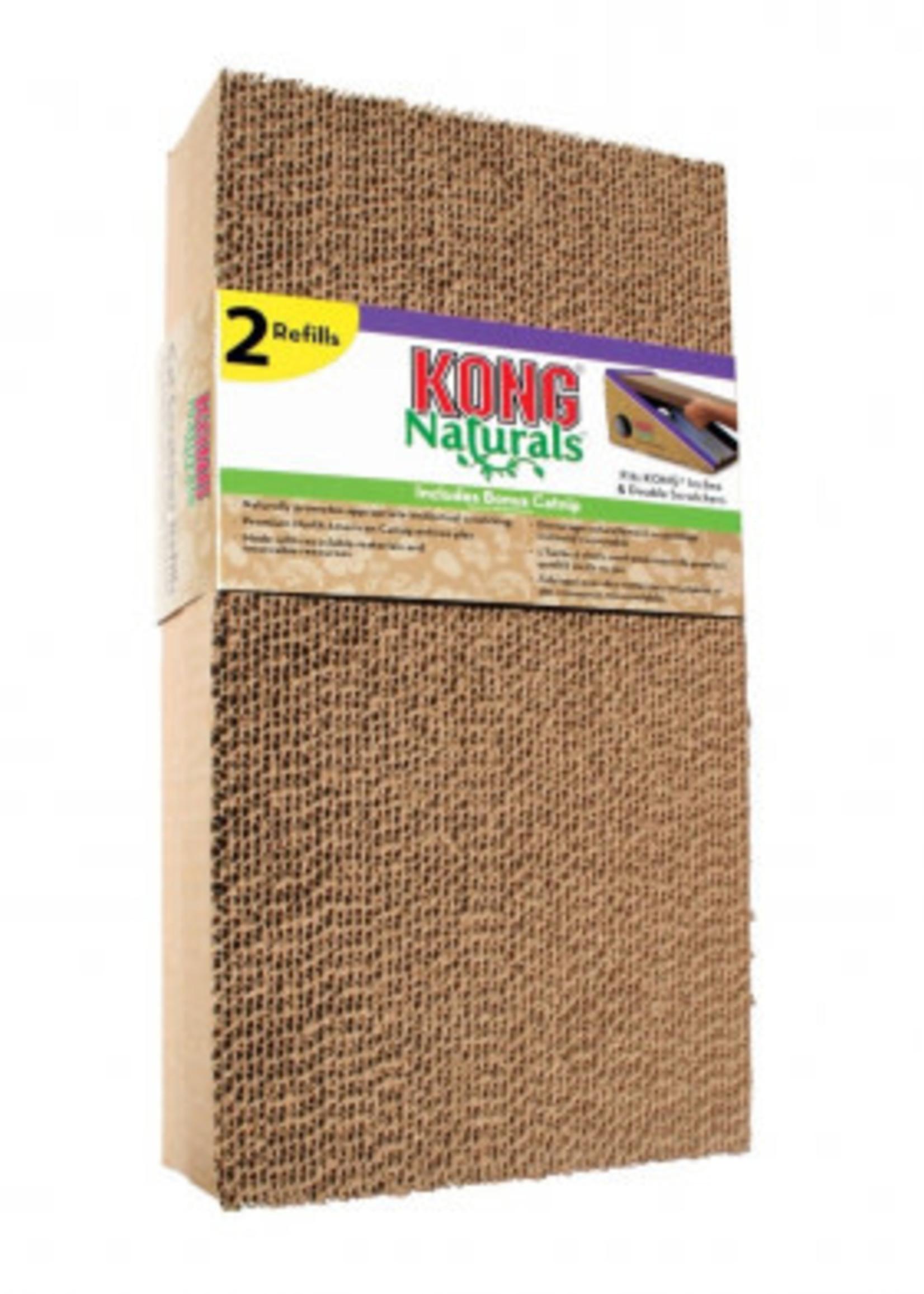 Kong® Kong Naturals Scratcher Refill 2pk