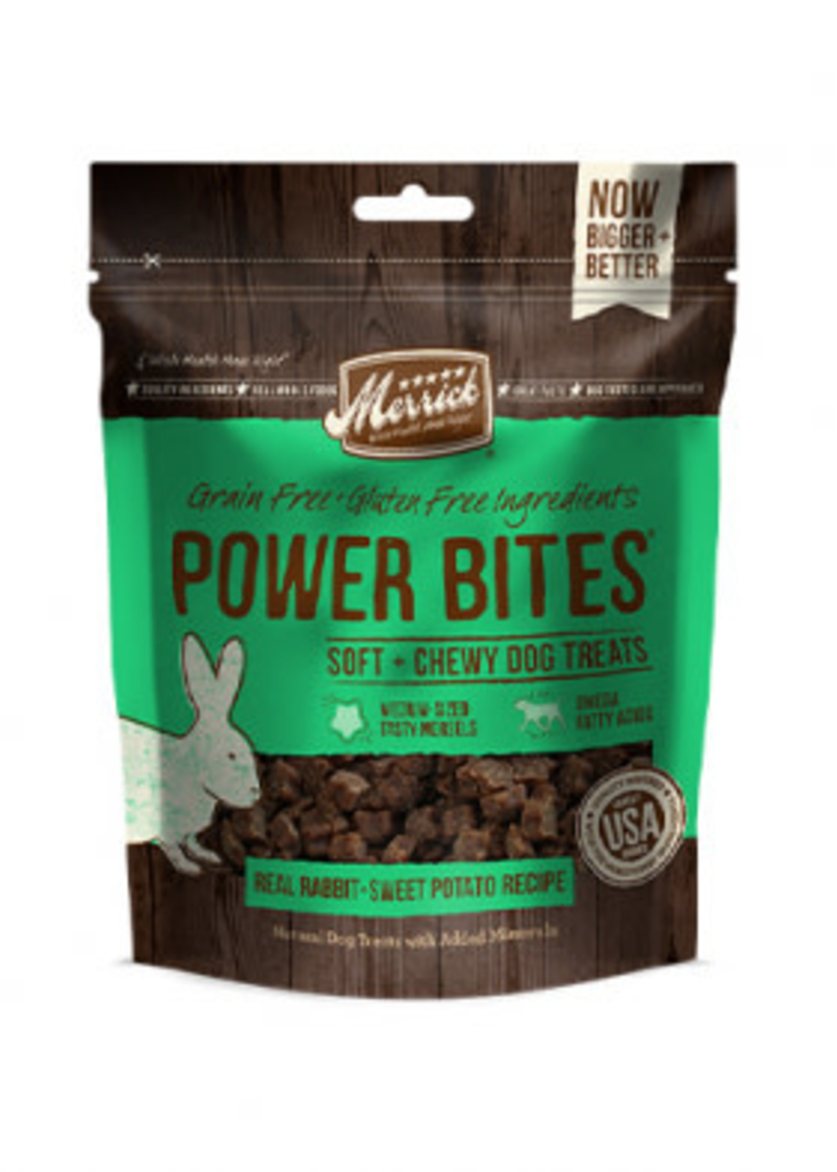 Merrick® Power Bites® Real Rabbit & Sweet Potato 6oz