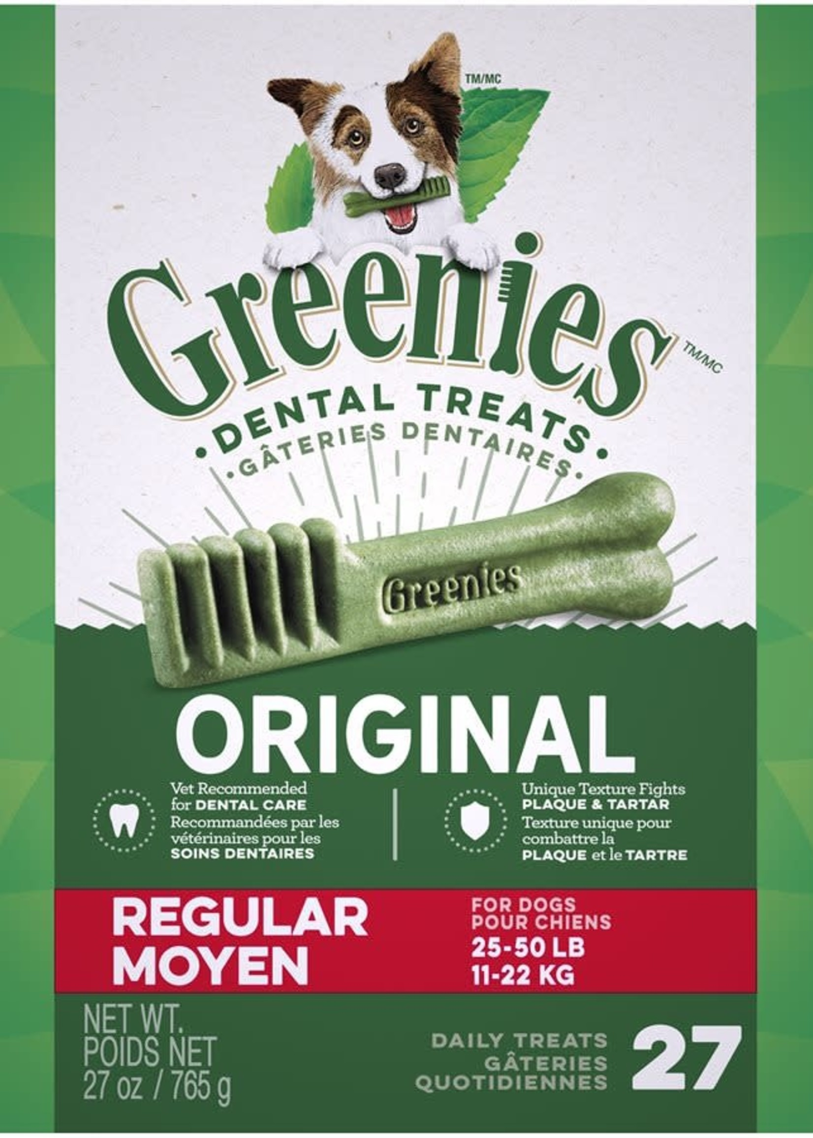 Greenies® GREENIES ORIGINAL BOX REGULAR  27oz