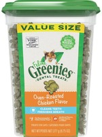 Greenies® OVEN ROASTED CHICKEN JUMBO TUB 9.75oz