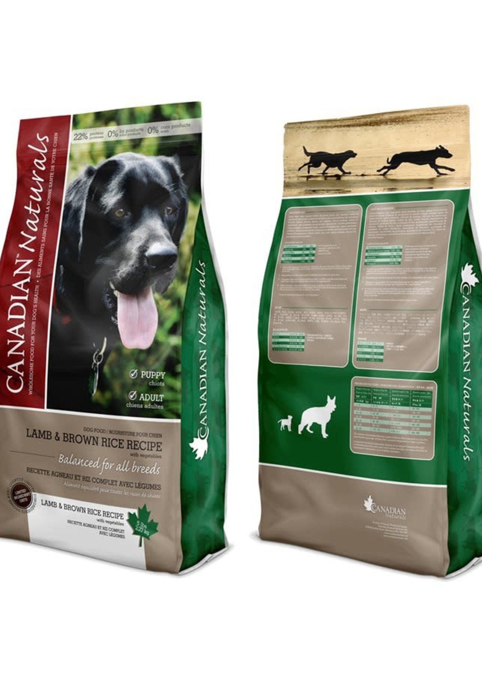 Canadian Naturals® Canadian Naturals Value Series Lamb & Brown Rice Recipe 25lbs