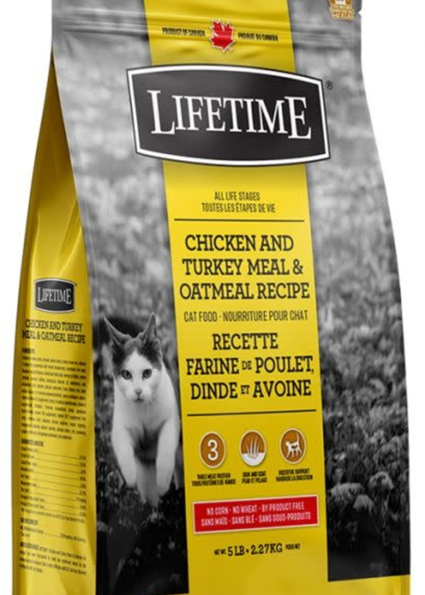 LifeTime® LifeTime Chicken and Turkey Meal & Oatmeal Recipe 5lbs
