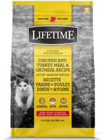 LifeTime® CAT CHICKEN&TURKEY&OATMEAL 14lbs