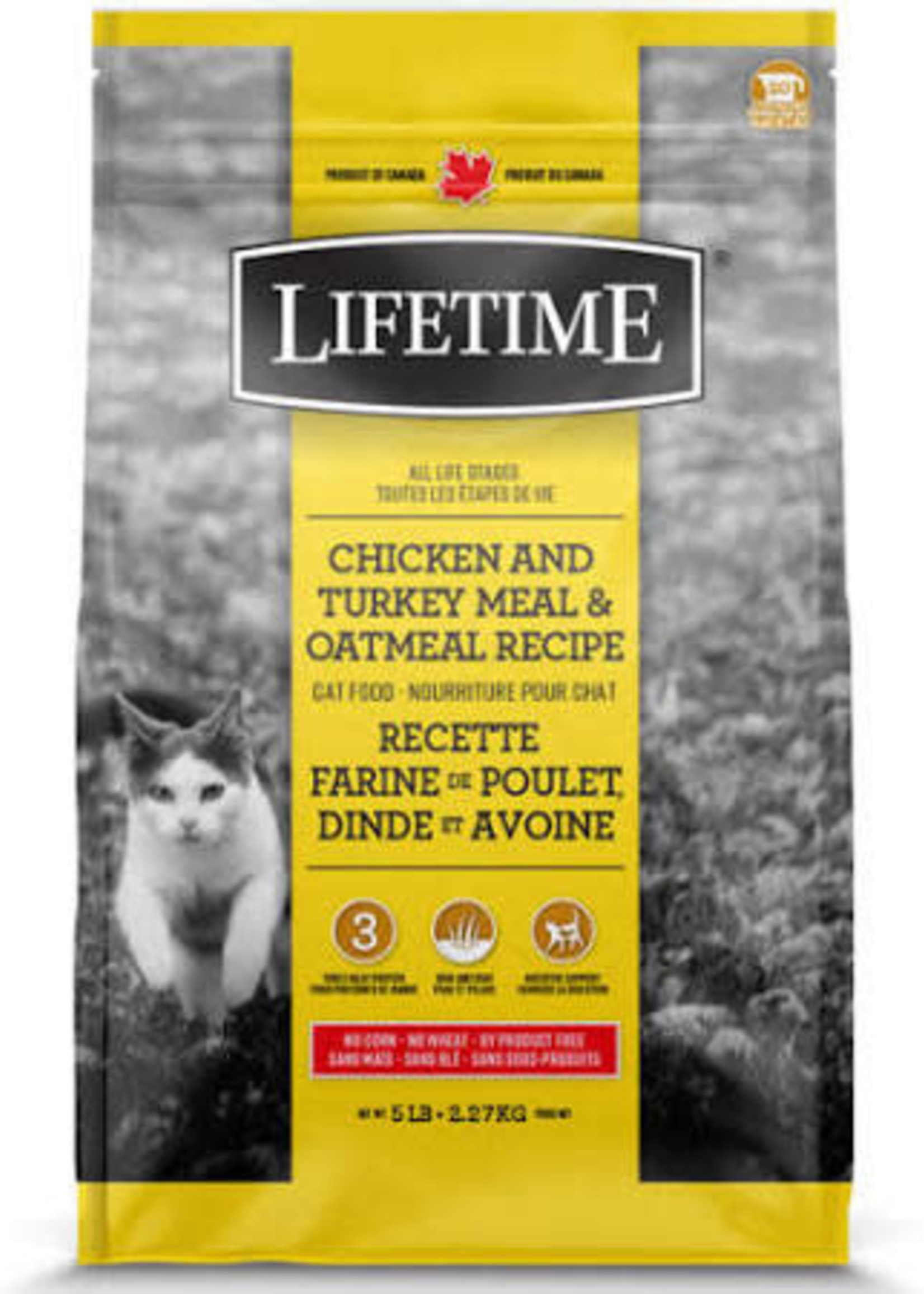 LifeTime® LifeTime® Chicken and Turkey Meal & Oatmeal 14lbs
