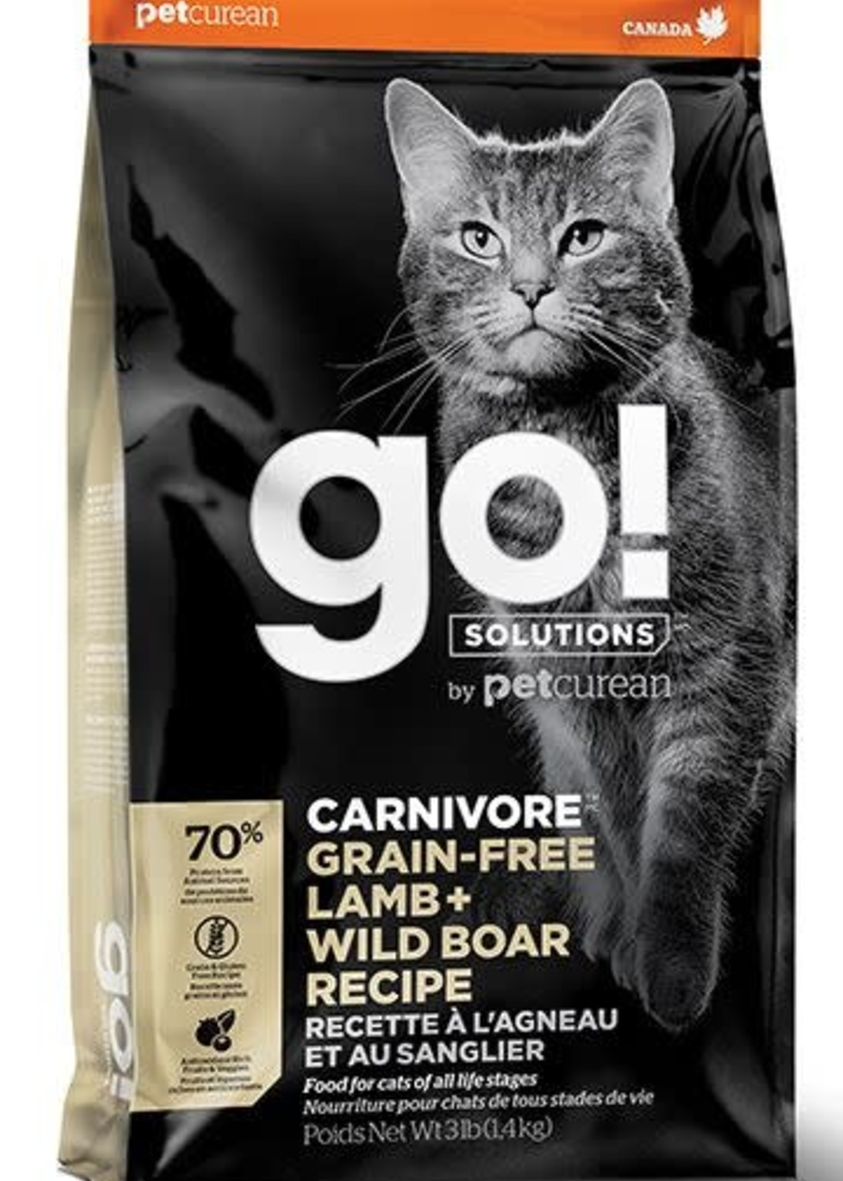 Go! Solutions™ Carnivore™ Lamb + Wild Boar 3lbs