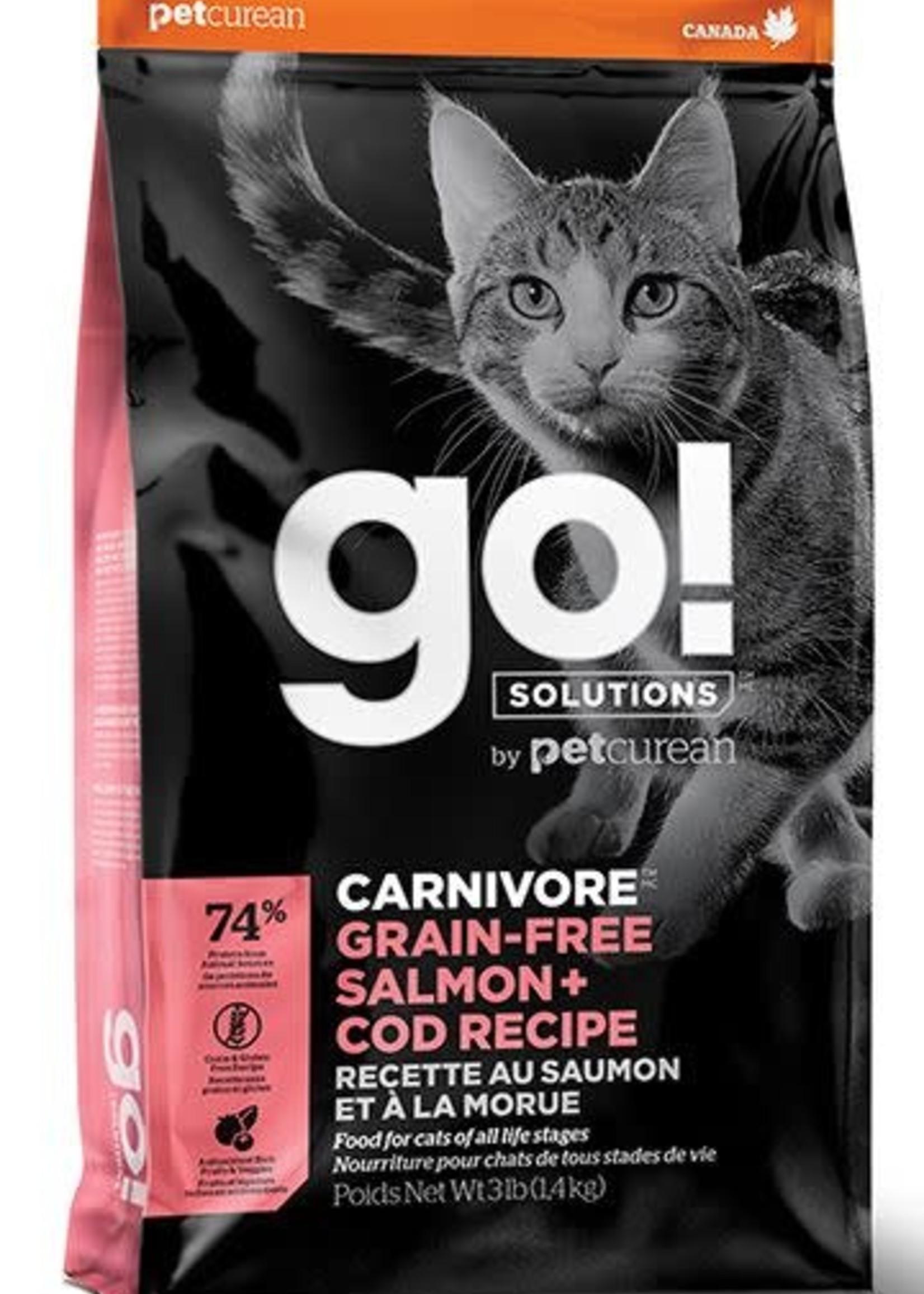 Go! Solutions™ go! Carnivore™ GF Salmon + Cod Recipe 3lbs