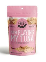 GRANVILLE ISLAND PET TREATERY all natural tuna flakes for cats 15g