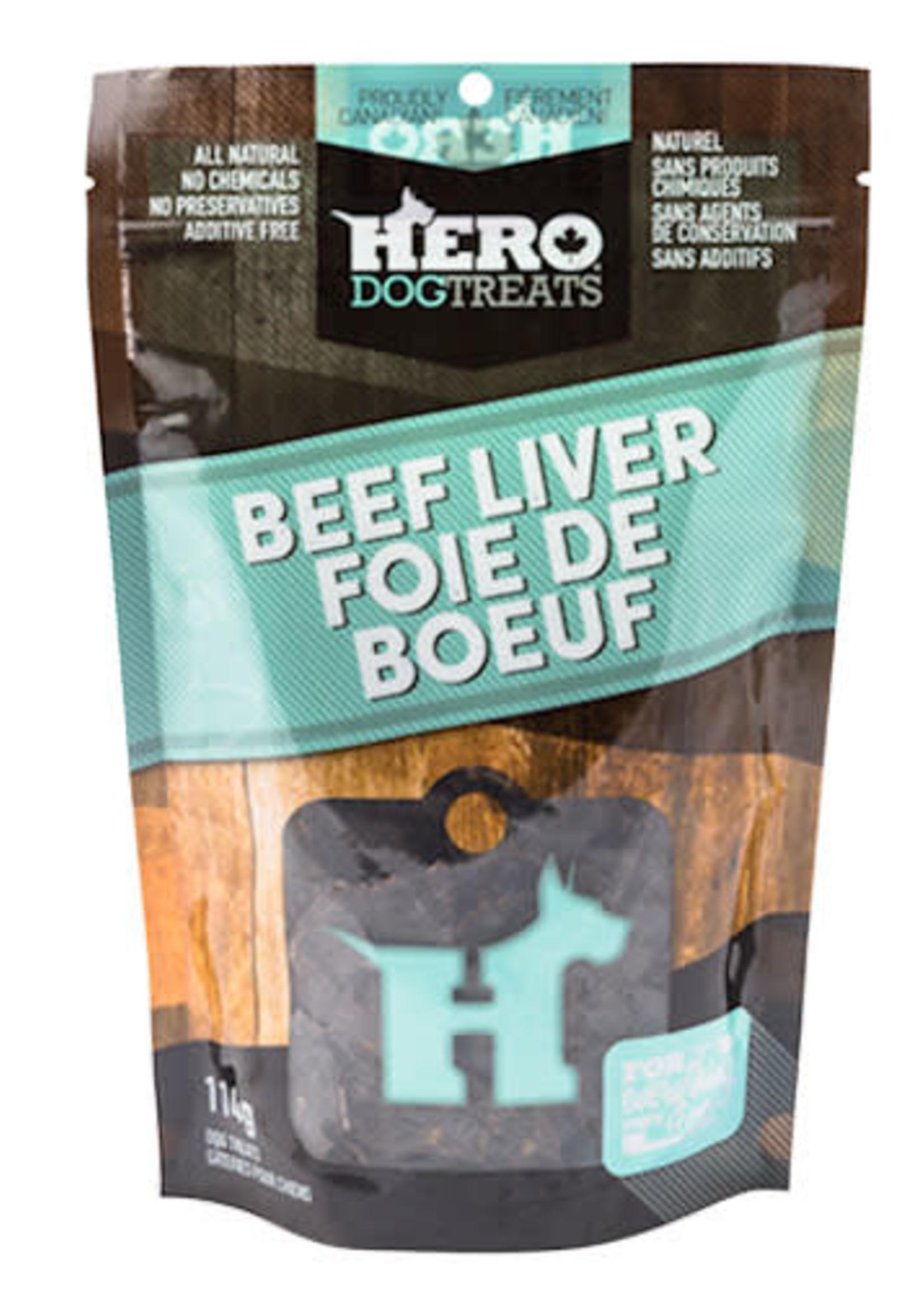 HeroDogTreats™ Hero Dog Treats Dehydrated Beef Liver 114g