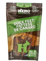 HeroDogTreats™ Dehydrated Duck Feet 125g