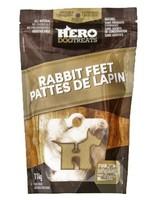 HeroDogTreats™ Dehydrated Rabbit Feet 114g