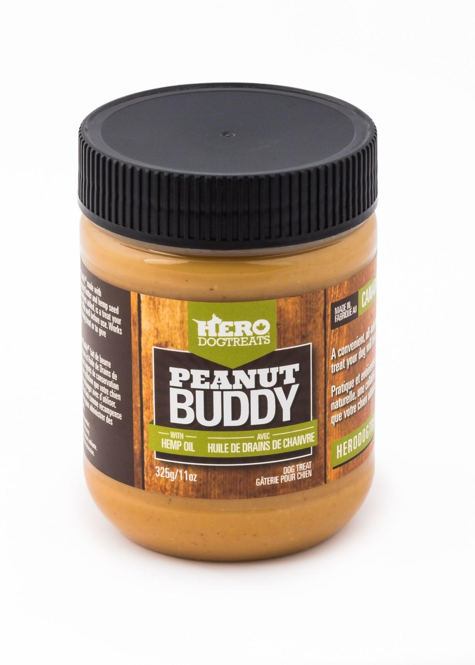 HeroDogTreats™ Hero Dog Treats Peanut Buddy with Hemp Seed Oil 11oz