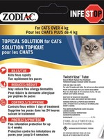 Zodiac® Infestop™ for Cats Over 4kG