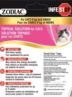Zodiac® Infestop™ for Cats 4kG and Under