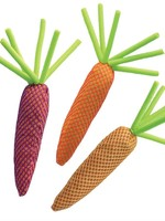Kong® Nibble Carrot with Catnip - Assorted