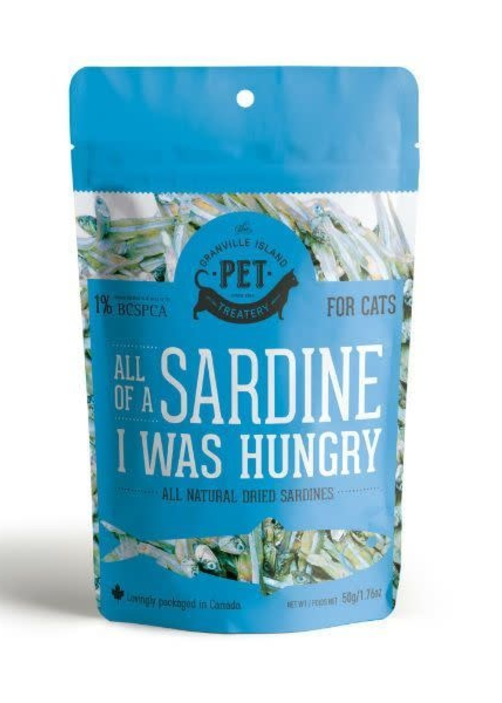 The Granville Island Pet Treatery Granville Island Pet Treatery All of a Sardine I was Hungry 50g