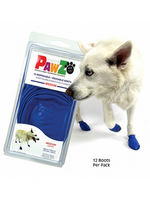 PAWZ RUBBER DOG BOOTS BLUE Mdm