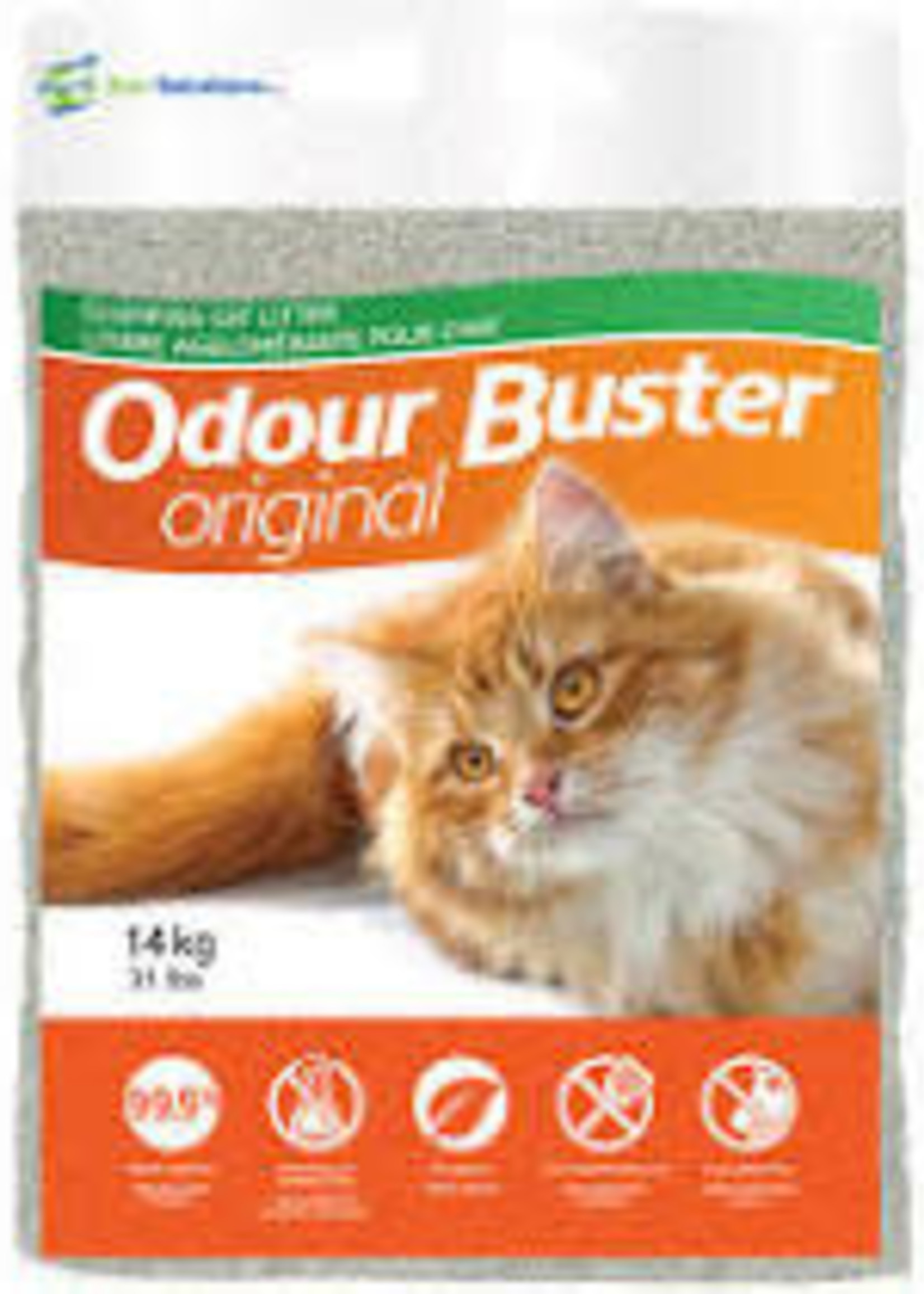 ECO-SOLUTIONS ECO-SOLUTIONS ODOUR BUSTER CAT LITTER 31lbs