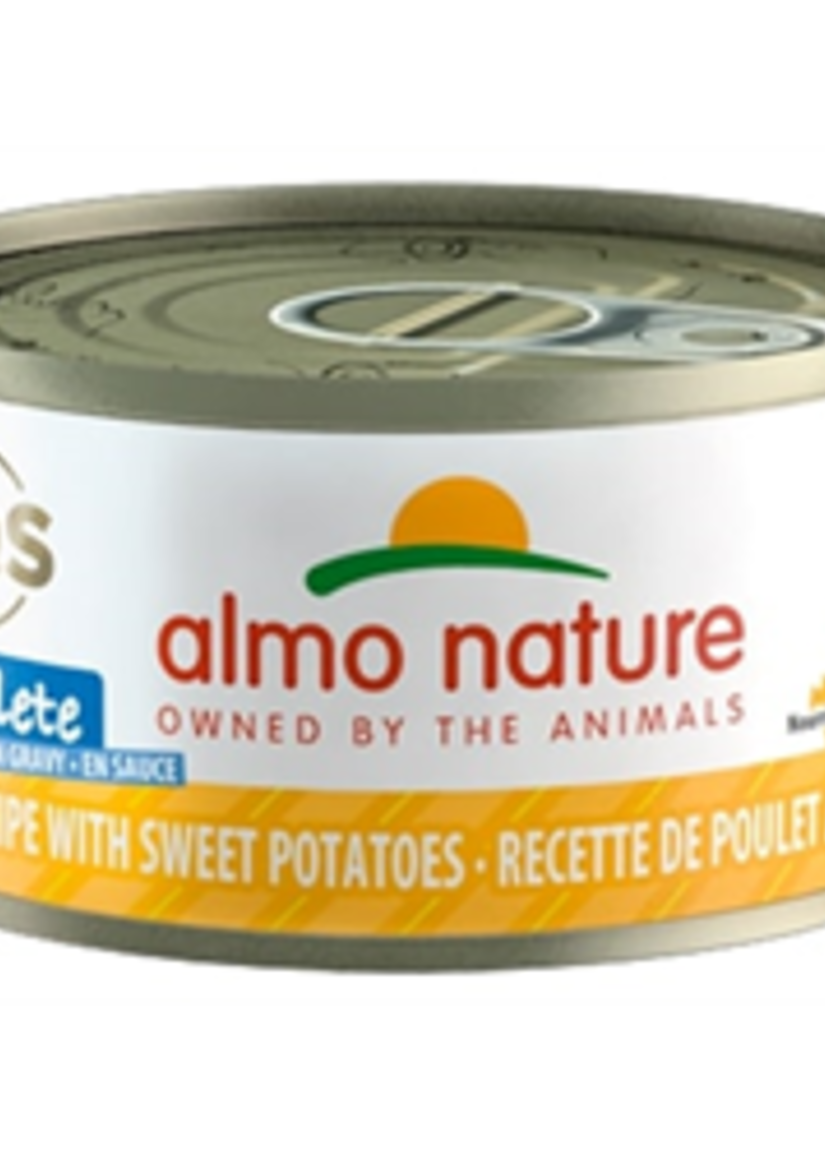 Almo Nature© Almo Nature HQS Complete Chicken Recipe with Sweet Potatoes in Gravy 70g