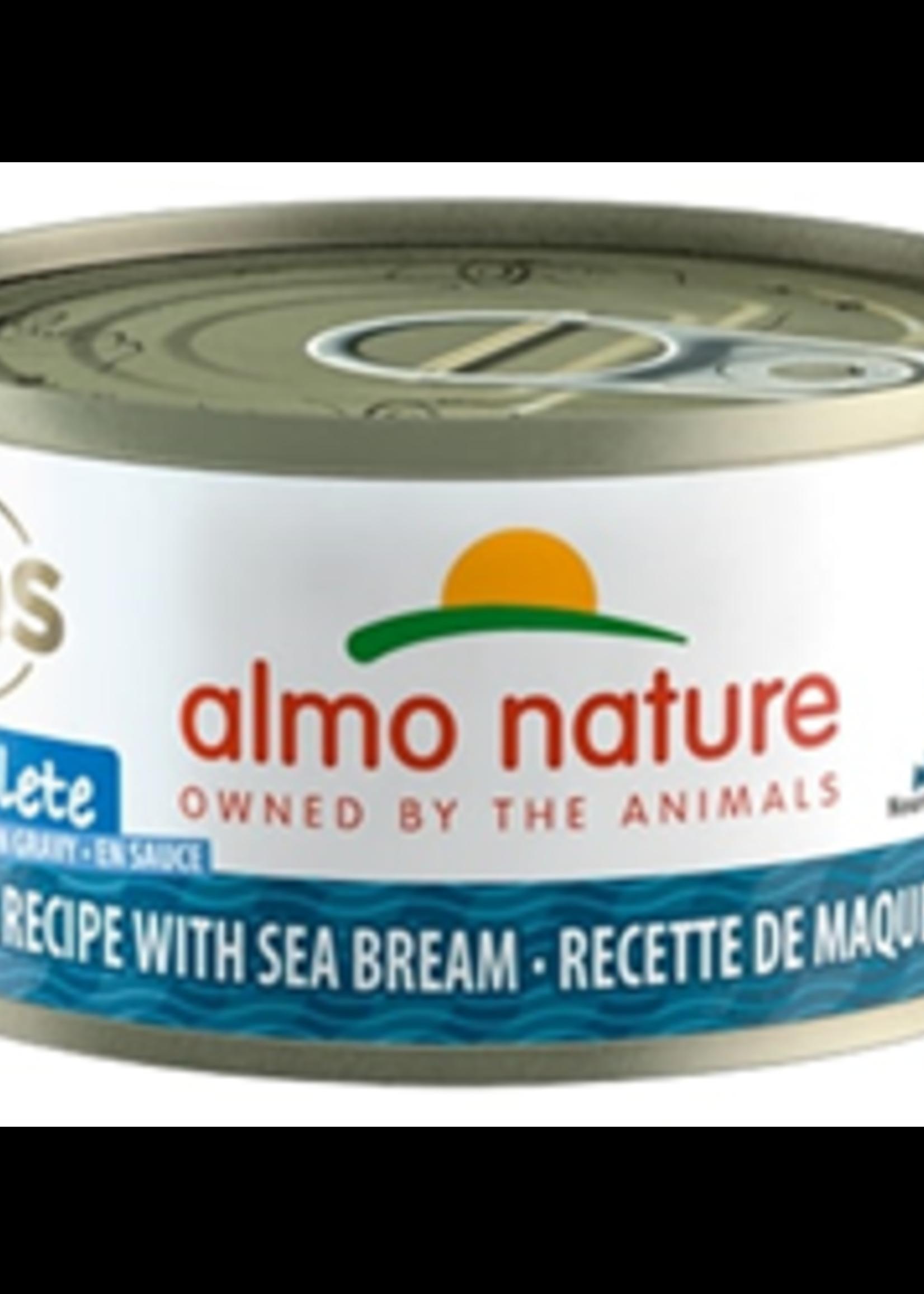 Almo Nature© Almo Nature HQS Complete Mackerel Recipe with Sea Bream in Gravy 70g