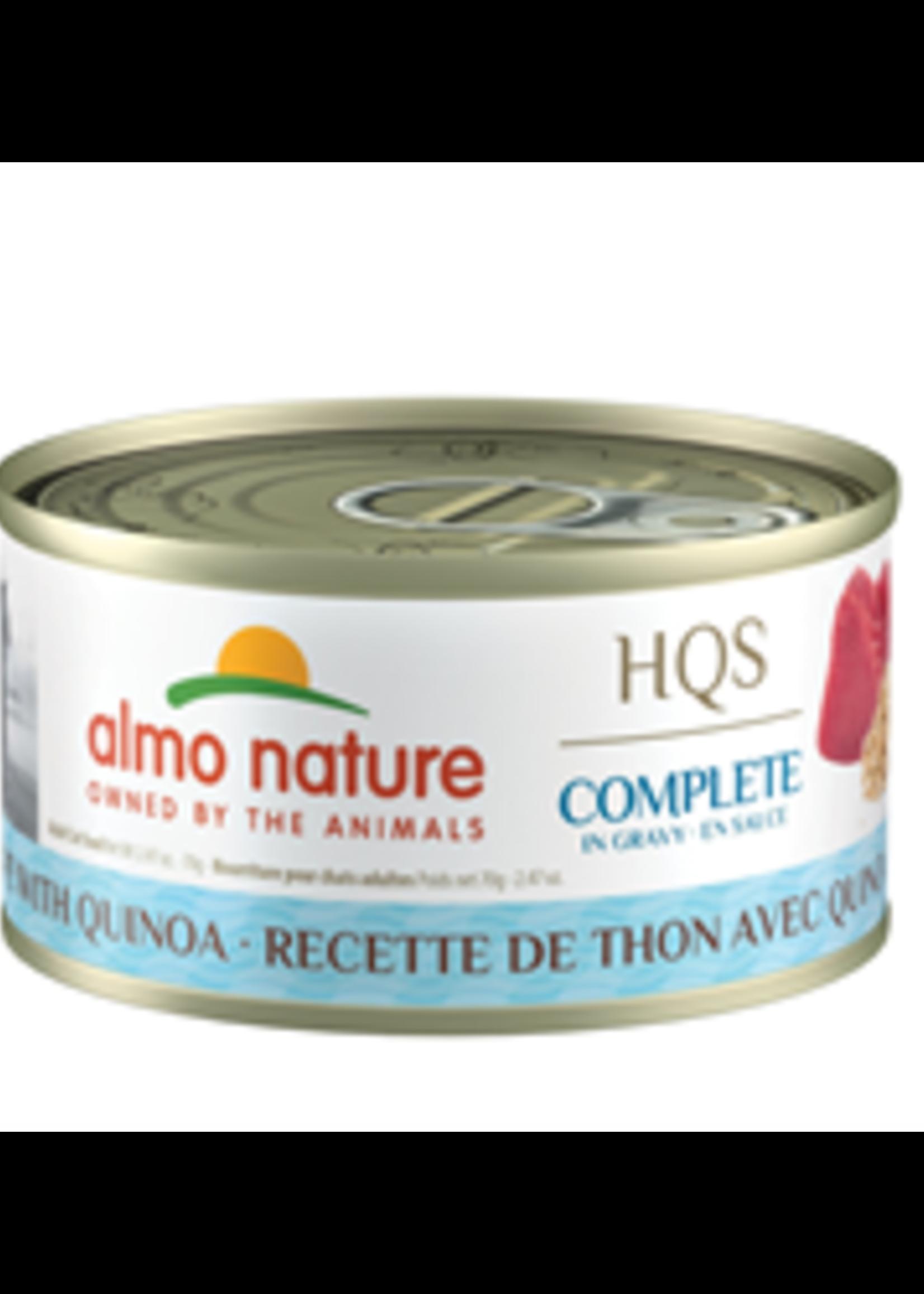 Almo Nature© Almo Nature HQS Complete Tuna Recipe with Quinoa in Gravy 70g