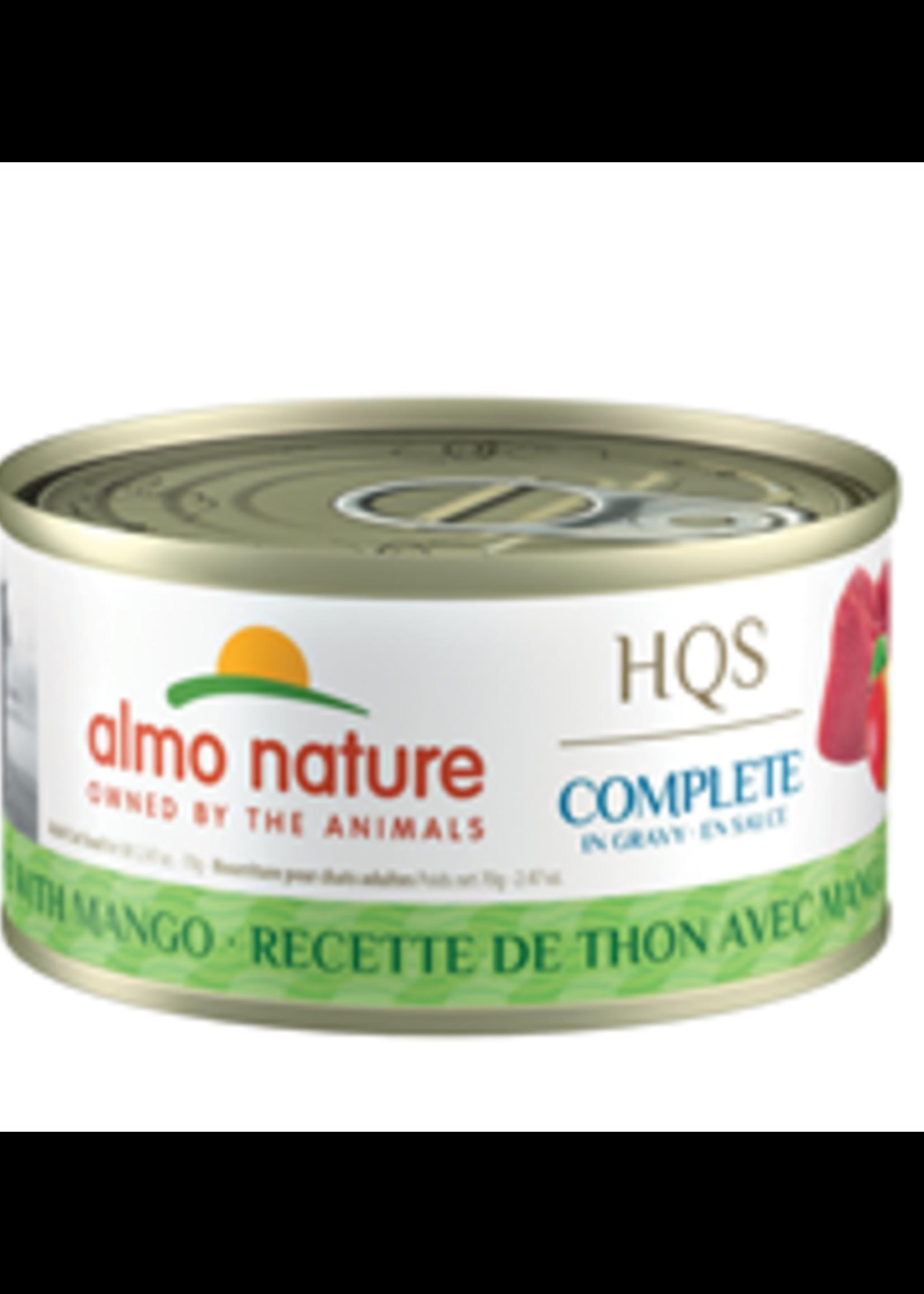 Almo Nature© Almo Nature HQS Complete Tuna Recipe with Mango in Gravy 70g