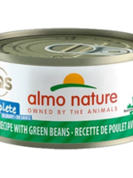Almo Nature© HQS Complete Chicken Recipe with Green Beans in Gravy 70g