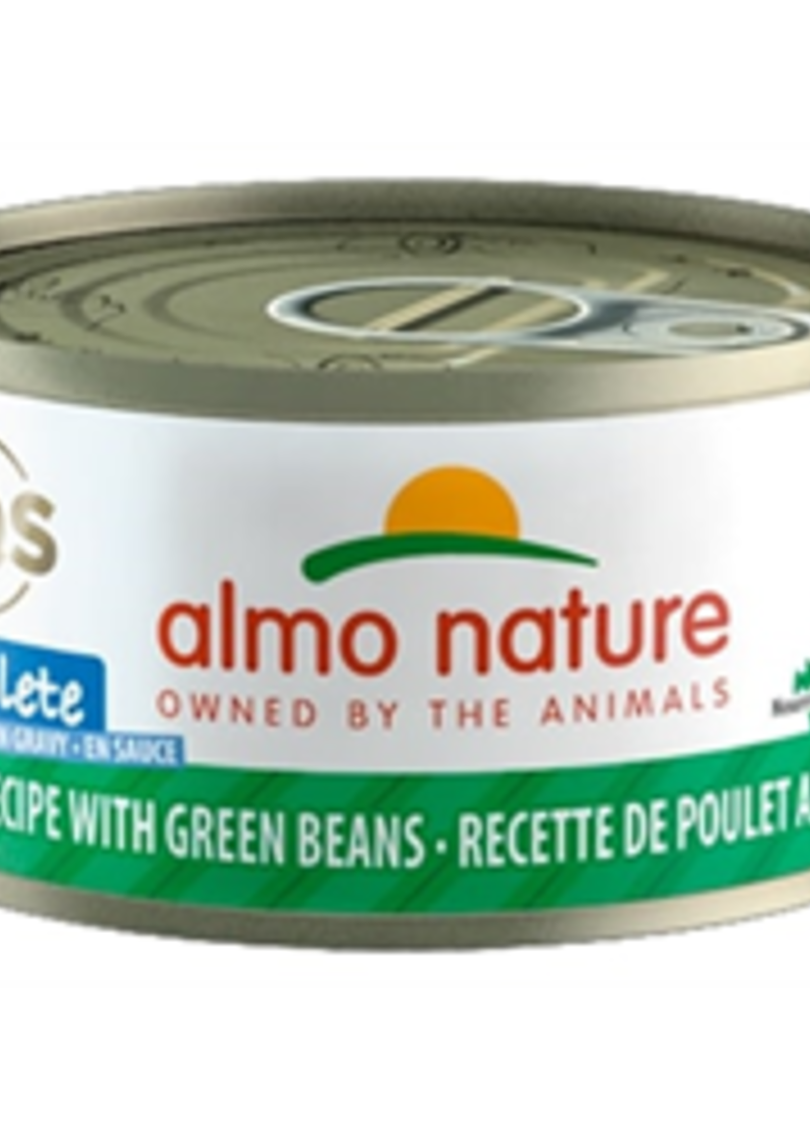 Almo Nature© Almo Nature HQS Complete Chicken Recipe with Green Beans in Gravy 70g