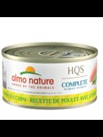 Almo Nature© HQS Complete Chicken Recipe with Zucchini in Gravy 70g